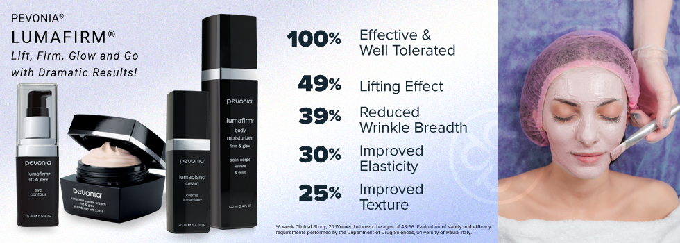 Instant and Immediate Results with Pevonia Botanica Lumafirm Line
