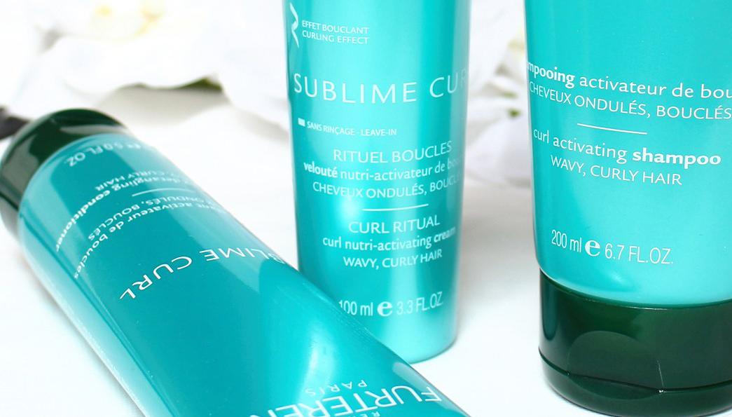 Rene Furterer Sublime Curl Range - The Rough Hair Ritual