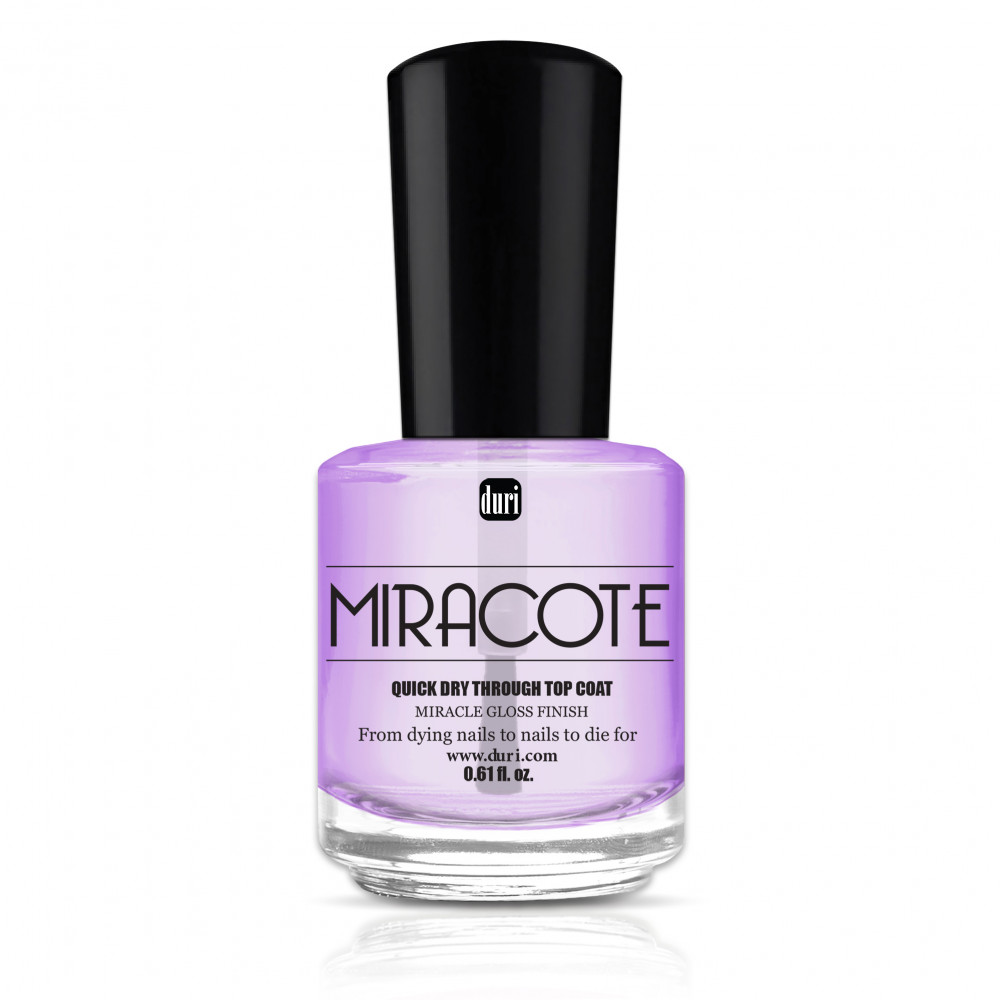 Duri Miracote Quick Dry Through Top Coat