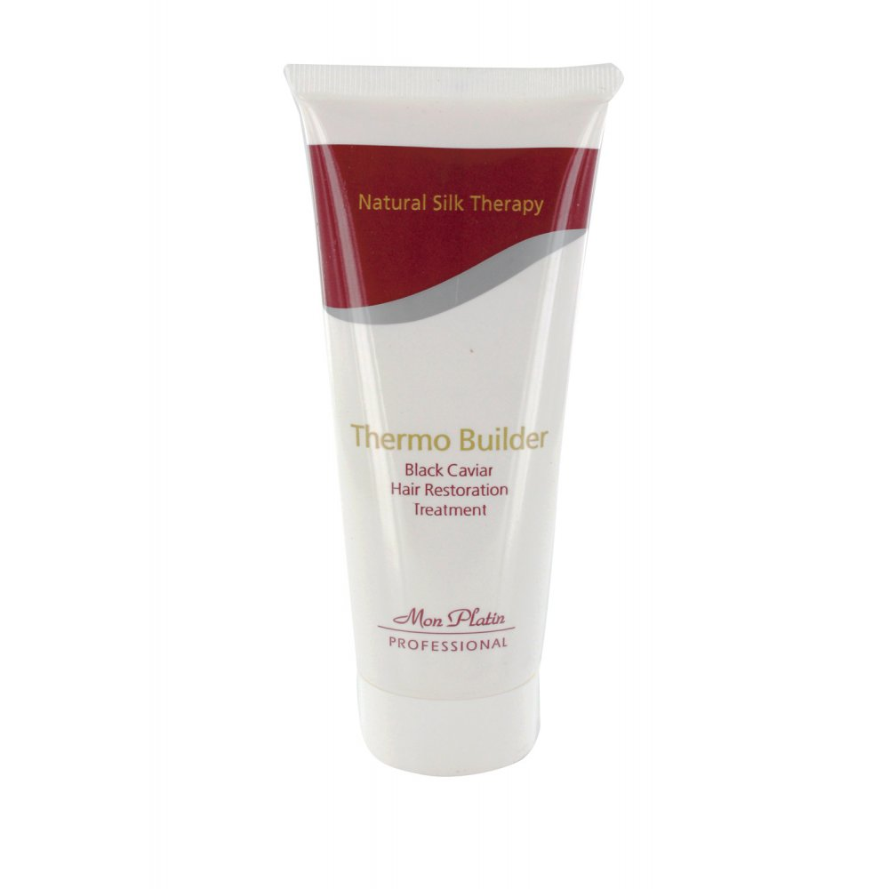 Mon Platin Natural Silk Therapy Black Caviar Thermo Builder Treatment - 200 ml