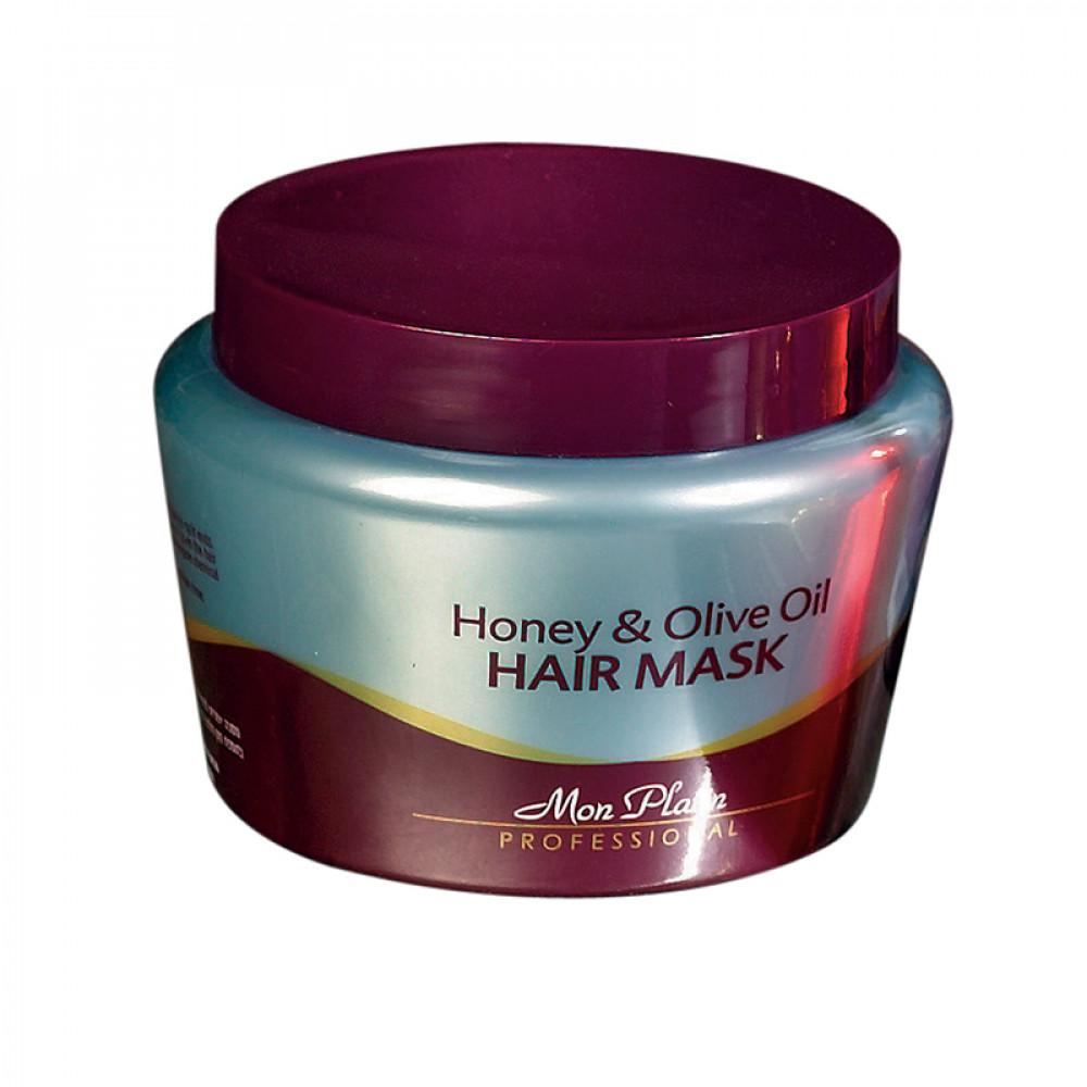 Mon Platin Honey and Olive Oil Hair Mask - 500 ml