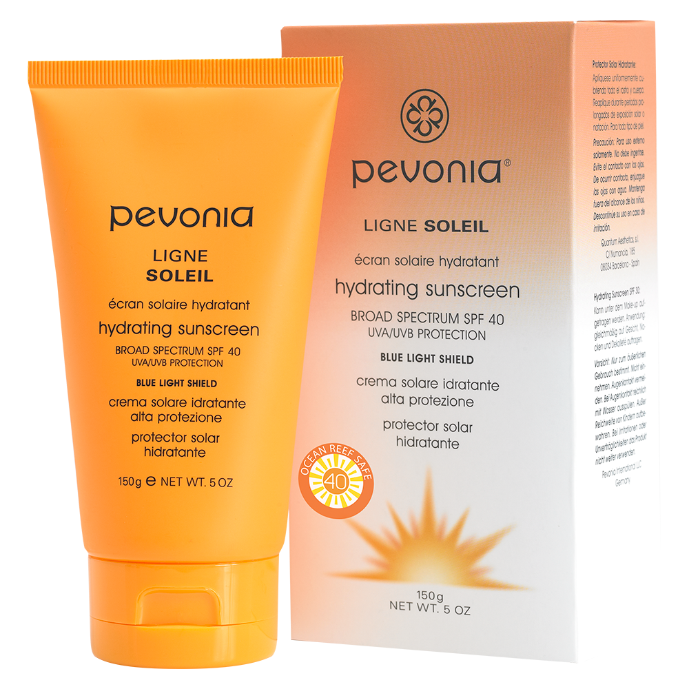 Pevonia Botanica - Hydrating Sunscreen SPF 40 UVA/UVB Protection + Blue Light Shield