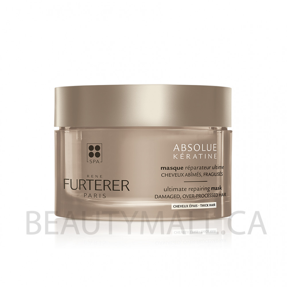 Rene Furterer - Absolue Keratine - Ultimate Renewal Mask - Thick Hair - 200ml