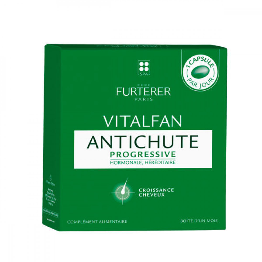 Rene Furterer - Vitalfan for progressive hair loss - 30 capsules