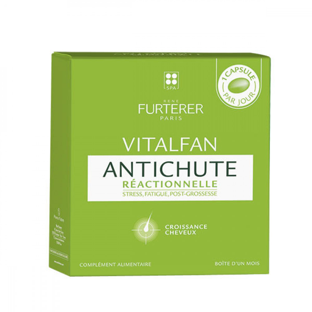 Rene Furterer - Vitalfan Reactional Hair Loss 3-pack (90 capsules)