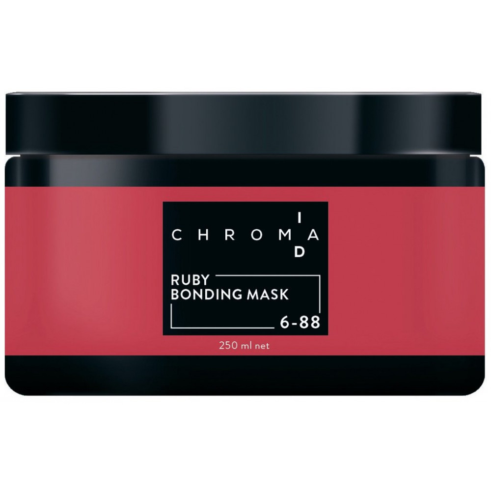 Schwarzkopf Professional Chroma ID Ruby Bonding Color Masks - 250 ml