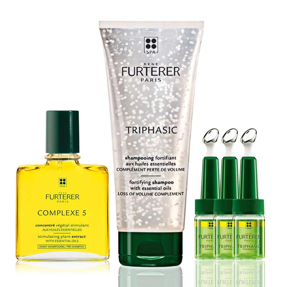 Rene Furterer - Triphasic Progressive Hair Loss Ritual